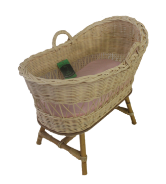 Doll Cradle With Stand